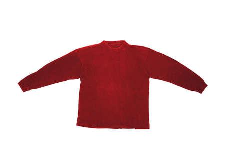 Long sleeved shirt isolated on white background Stock Photo - 6540519