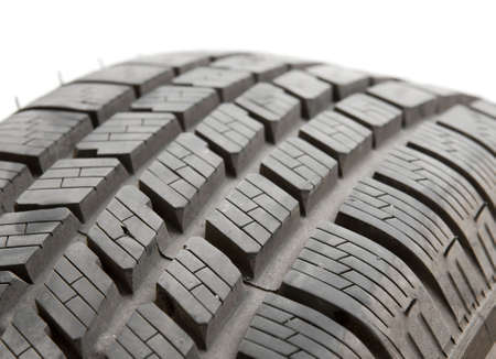 Car tyre detail closeup Stock Photo - 6674636