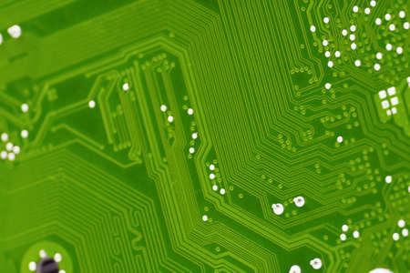 Circuit board background, shallow DoF photo