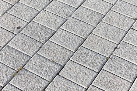tiling: bright pavement texture Stock Photo