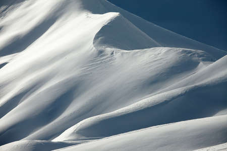 snowy mountain: Mountains covered by snow