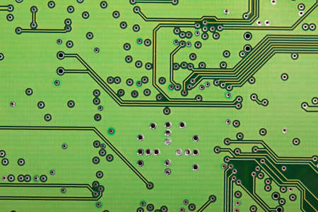 Electronic circuit board background photo
