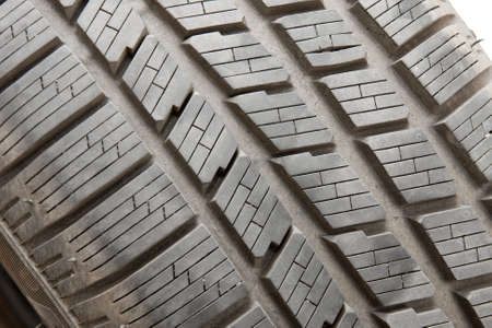 Winter tyre texture closeup Stock Photo - 8203433