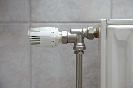 Heating radiator detail photo