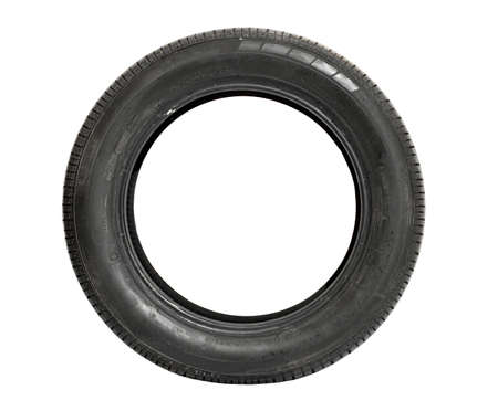 Car tire isolated on white background Stock Photo - 9093314