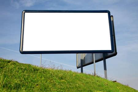 Empty advertisement board Stock Photo - 10549710