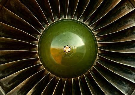 Old jet engine closeup Stock Photo - 10549657