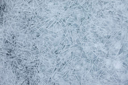 Ice crystals texture background