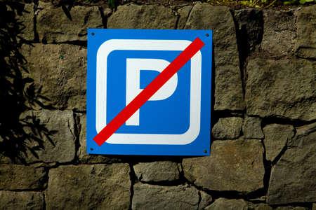no parking: No parking sigh close up Editorial