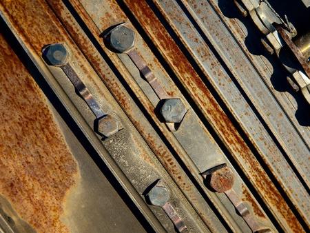 Rusty metal texture detailed closeup Stock Photo - 12650933