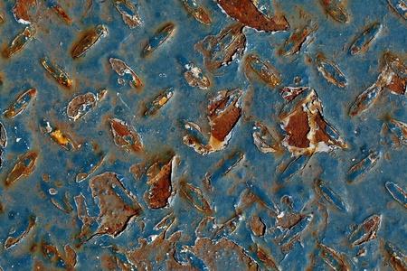 run down: Rusty metal surface detailed texture