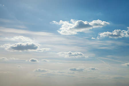 fleecy: Clouds in the bright sky