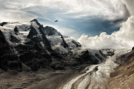 View at the Grossglockner mountain photo