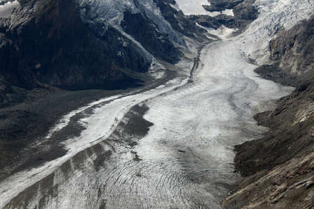 grossglockner: Glacier in an alpine valley (Grossglockner, Austria)