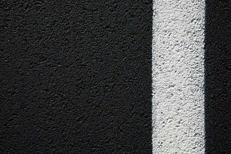 road surface: Asphalt texture with with line on the side