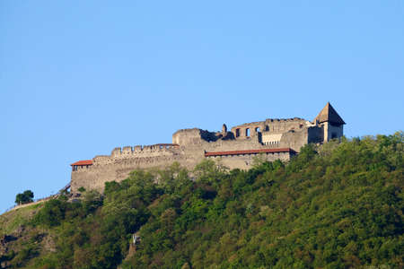 visegrad: Castle ruin rom the middle ages Editorial