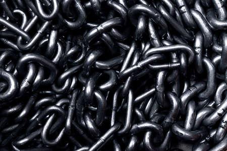 Chains, dark, black and white background photo