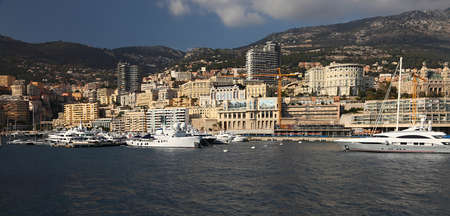 View of Monaco from the sea