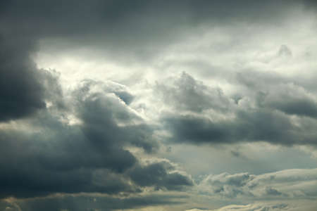 Dark clouds in the sky Stock Photo - 16104027