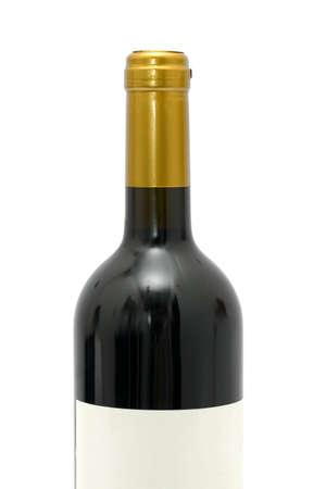Closeup of a wine bottle Stock Photo - 16113338