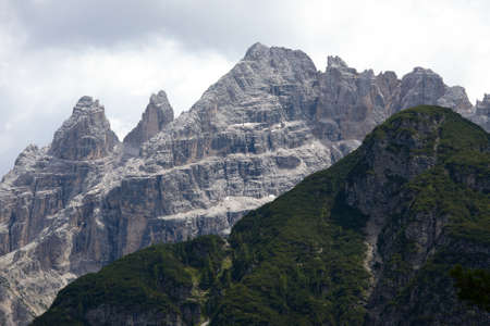 Mountain landscape in the Dolomites Stock Photo - 16839686