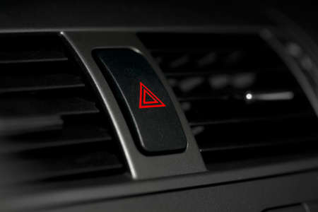 warning indicator: Emergency sign button on the dashboard