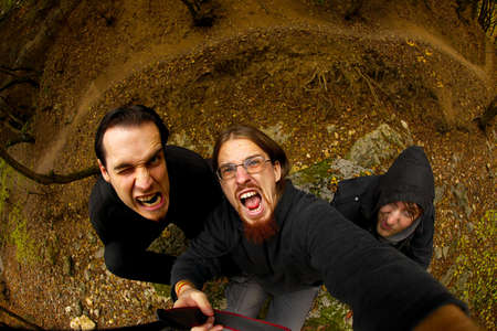 merciless: Crazy guys lurking in the forest
