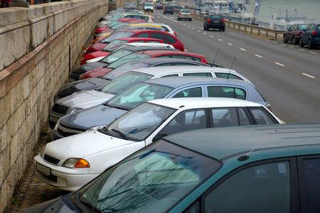 carpark: Parking cars in an urban area