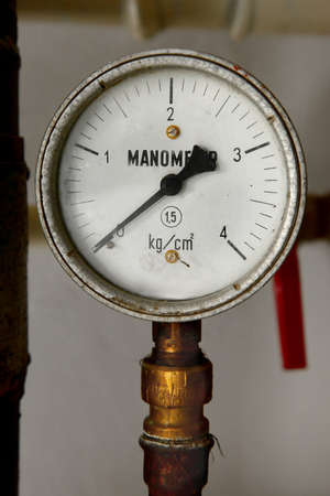Old rusty manometers Stock Photo - 19533752