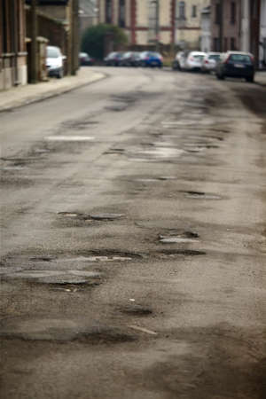 bumpy: Very bad quality road with potholes