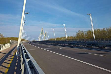 megyeri: Huge highway bridge