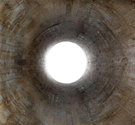 Lumi�re � l'extr�mit� du tunnel