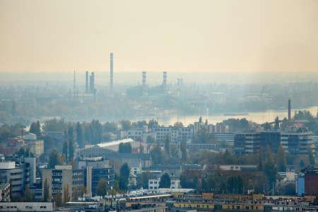 Vista de una zona urbana