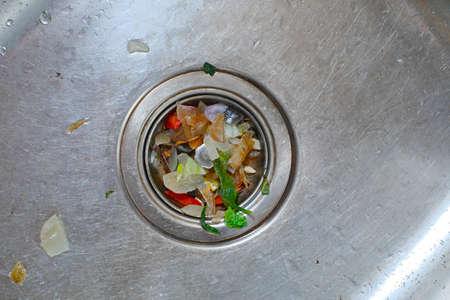 Kichen sucia del fregadero
