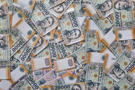 Contexte bancaire, forints hongrois