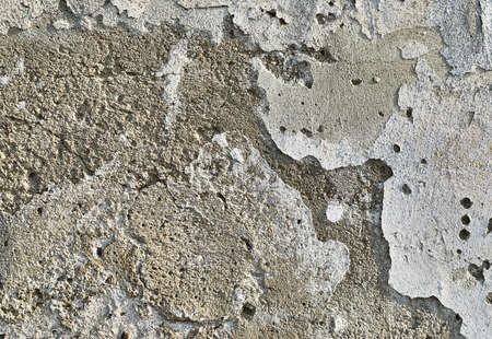 Wall desintegrating over time