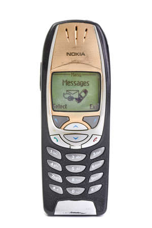 Old Nokia mobile phone 新聞圖片