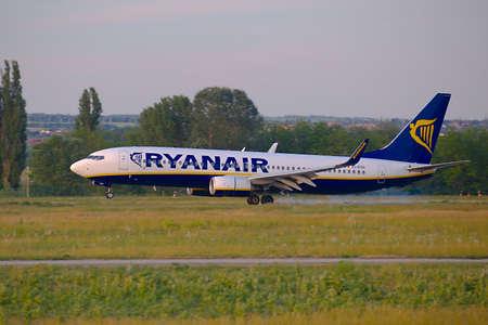 Ryanair Plane Landing