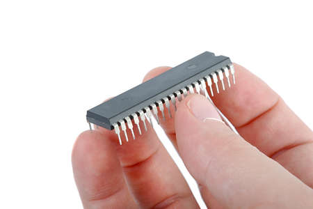 Old Computer Chip