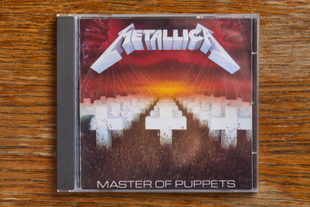 Metallica Master Of Puppets CD Editorial