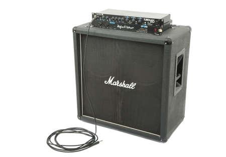 Marshall guitar cabinet