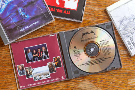 Metallica Master Of Puppets and other CDs Editorial
