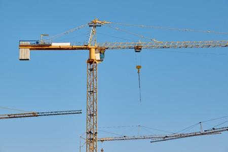 Tall Construction Cranes