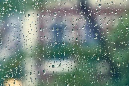 Rainy window surface 免版税图像