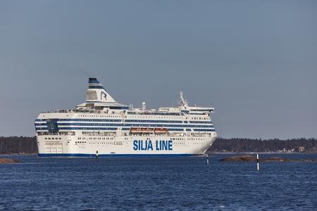 Ferry à Helsinki
