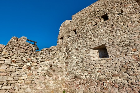 Old castle wall Imagens