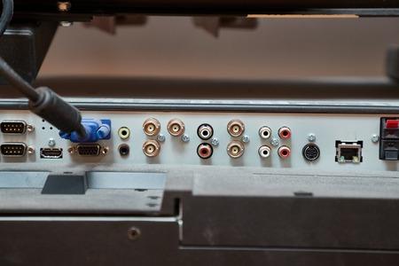 TV input output interface