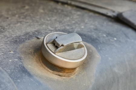 Fuel cap of a truck