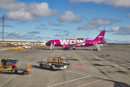 Airliner of WOW Air