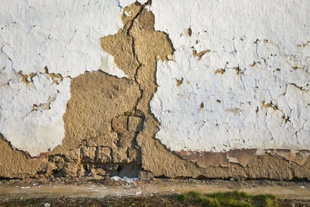 Old Wall CLoseup Stock Photo